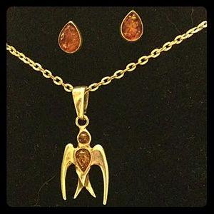Jewelry - Amber Phoenix 2 piece Jewelry Set